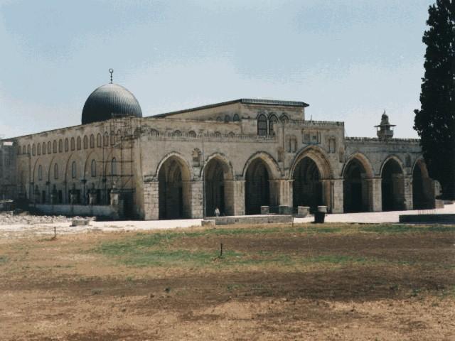 Настоящая мечеть Аль-Акса