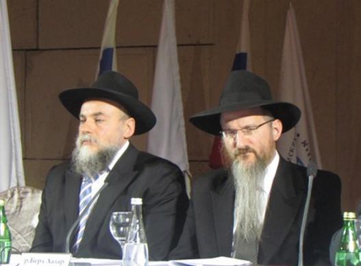 Раввины Борода и Берл Лазар из «Хабад-мафии»