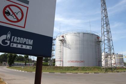 Газпром - хранилища