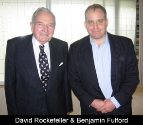 ben fulford and and david rockefeller