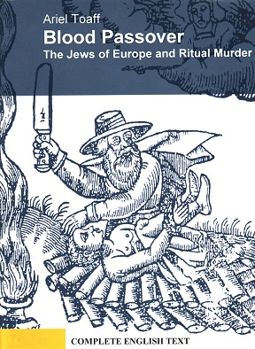 Blood Passover, The Jews of Europe and Ritual Murder - book cover