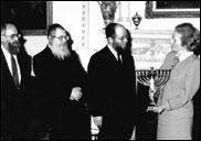 Премьер-министр Великобритании Маргарет Тэтчер и Хабад.