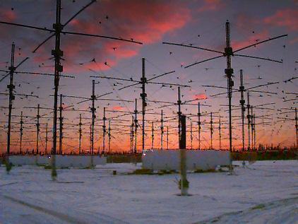 HAARP - антенное поля на Аляске, США