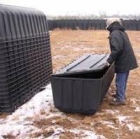 Пластиковые гробы, изготовленные для американских МЧС (FEMA)
