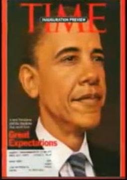 Обама как древнеегипетский фараон Тутанхамон