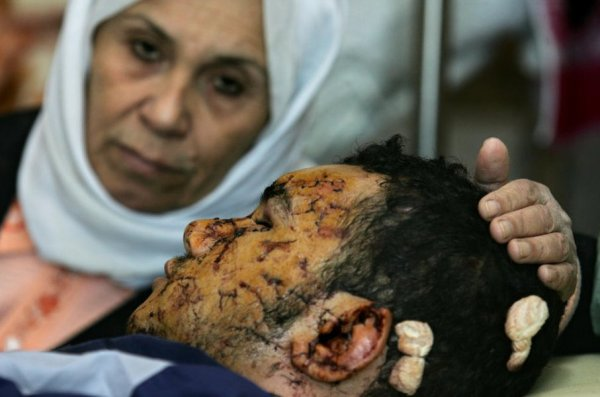 Палестинская мать и её убитый сын