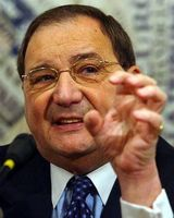 "ADL (Anti-Defamation League) president Abraham Foxman shows the Masonic sign of aggression ""lion's paw"""