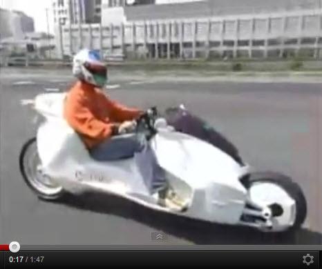 Сумо (Sumo) безтопливный гибридный электрический мотоцикл,  запрещенный для производства Сио-Нацистской-Иллюминатовской  мировой элитой НМП (Нового Мирового Порядка
