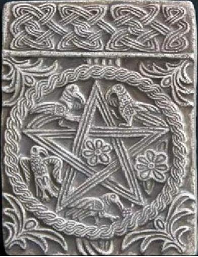 Пентаграмма. Южные славяне. Хорватия. IX -XI вв.н.э. Рельеф из церкви Св.Петра и Моисея в Солине.