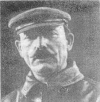 A typical Communist murderer, Mikhail Borodin (Jakob Grusenberg)