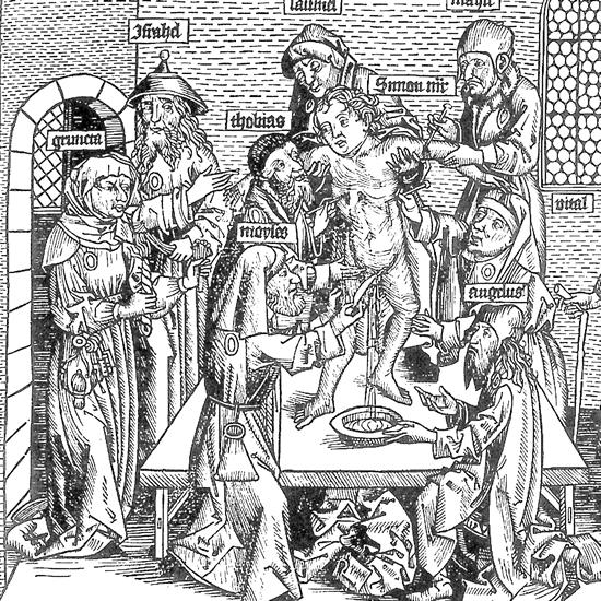 Ритуал жертвоприношения кровопусканием Саймона из Трента