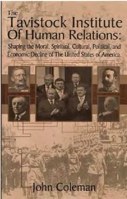 Tavistock Institue of Human Relations Book Cover - Dr. John Coleman